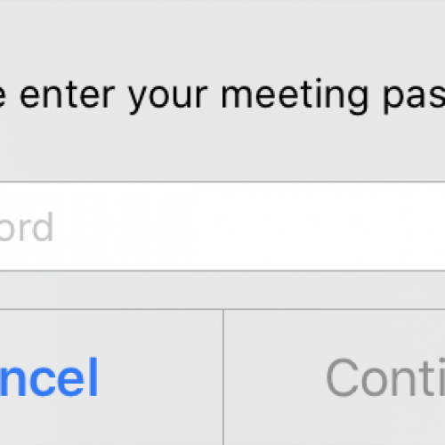 Step 3: Type in the password, given to you by a staff member.
